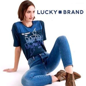 ✨NWT Lucky Brand David Bowie T Shirt✨